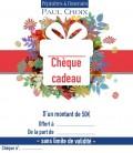 CHEQUE CADEAU