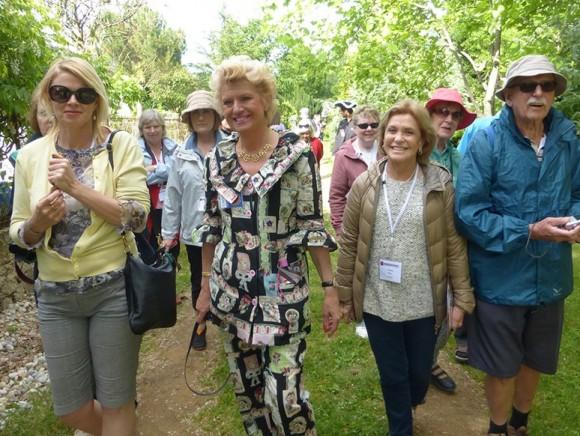 Des visiteurs du monde entier à la pépinière Paul Croix