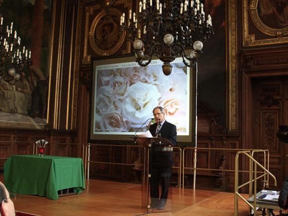Beau succès pour Jacques Ranchon et les Pépinières & Roseraies Paul Croix à la Sorbonne